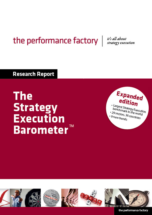 The Strategy Execution barometer - Book