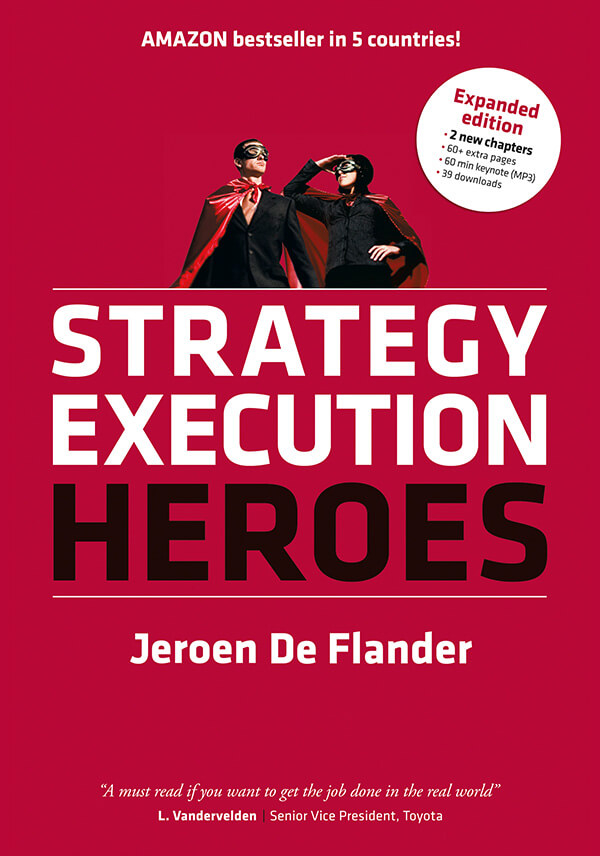 Cover from The Execution Shortcut, a strategy execution book by Jeroen De Flander
