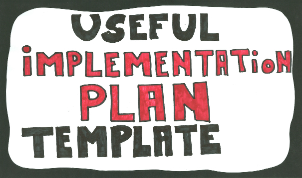 Implementation Plan Template Easy To Use Steps Example
